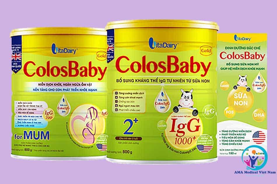 Thông tin về sữa Colosbaby