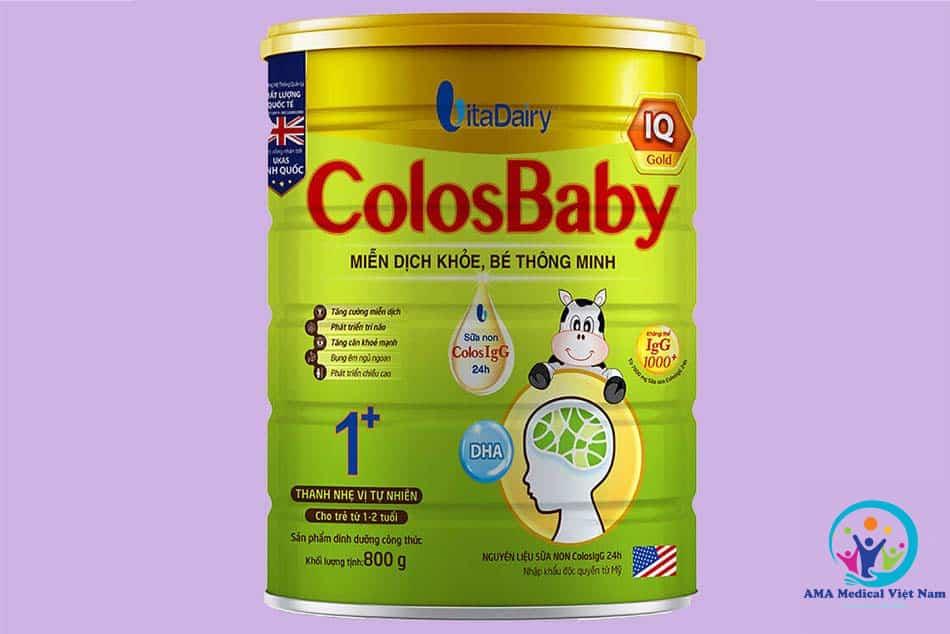 Sữa Colosbaby IQ – Miễn dịch khỏe, bé thông minh