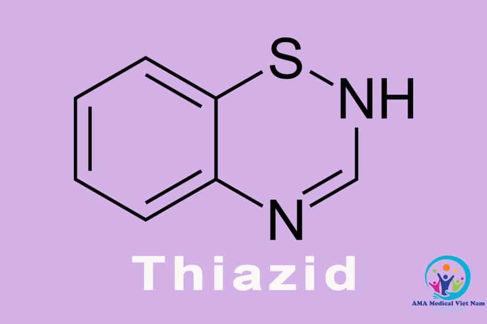 Lợi tiểu Thiazid có thể tương tác với Darinol