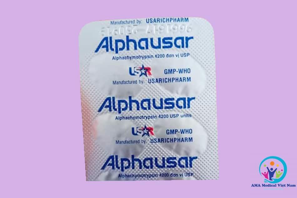 Vỉ thuốc Alphausar