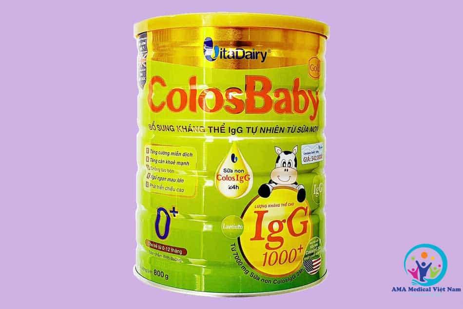 Colosbaby Gold - Miễn dịch khỏe, tiêu hóa tốt