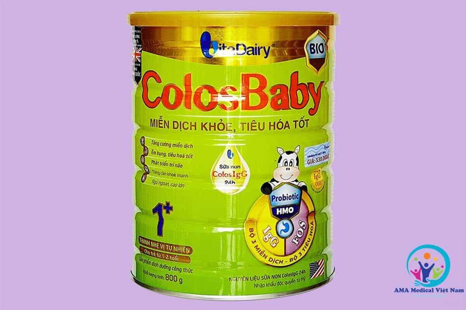 Sữa Colosbaby BIO – Miễn dịch khỏe, tiêu hóa tốt