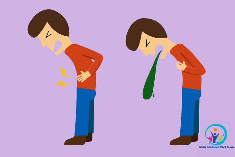 Bệnh nhân có thể bị tiêu chảy, đau bụng, buồn nôn,...