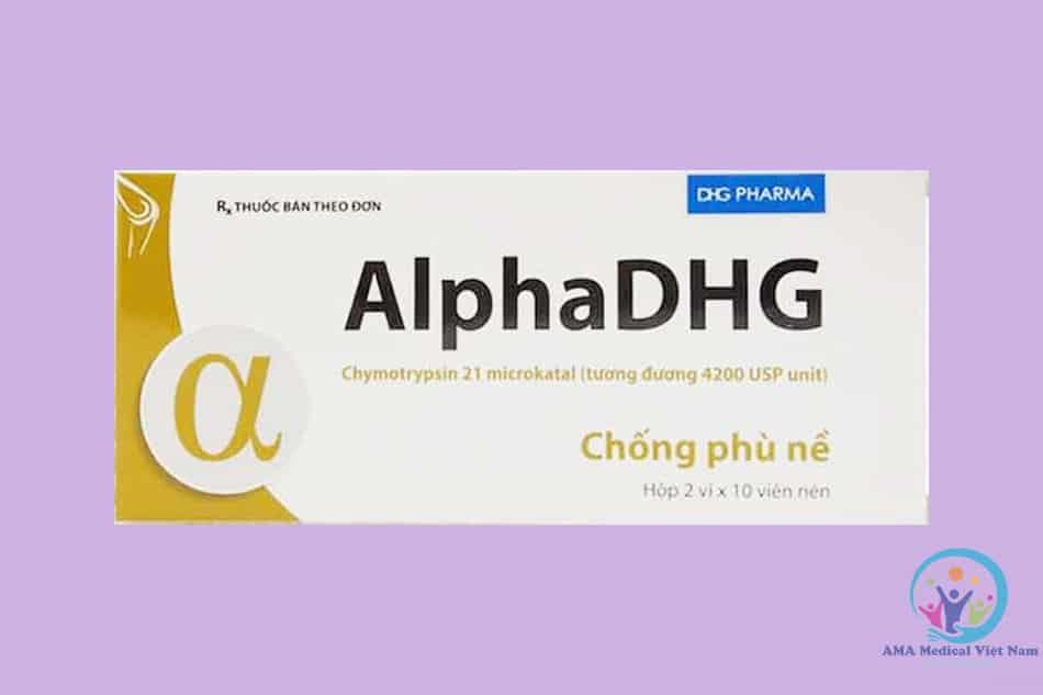 Hộp thuốc AlphaDHG