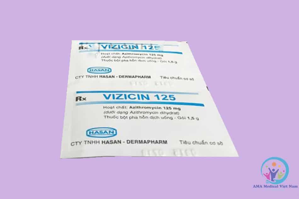 Gói thuốc Vizicin 125