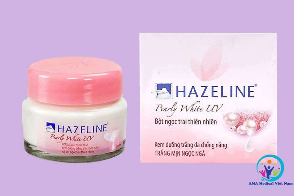 Kem dưỡng da Hazeline Pearly White UV bột ngọc trai