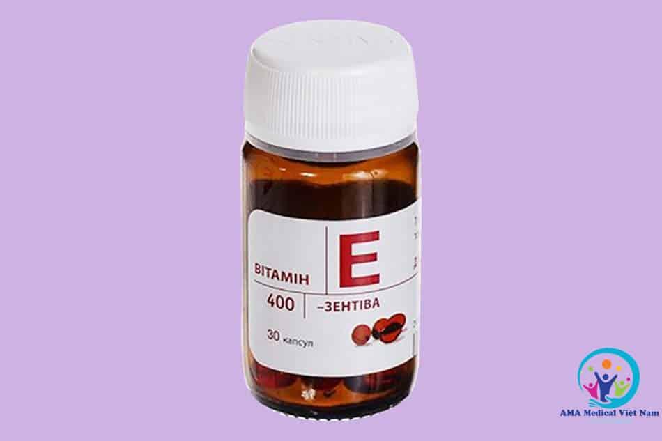 Lọ vitamin e đỏ của Nga