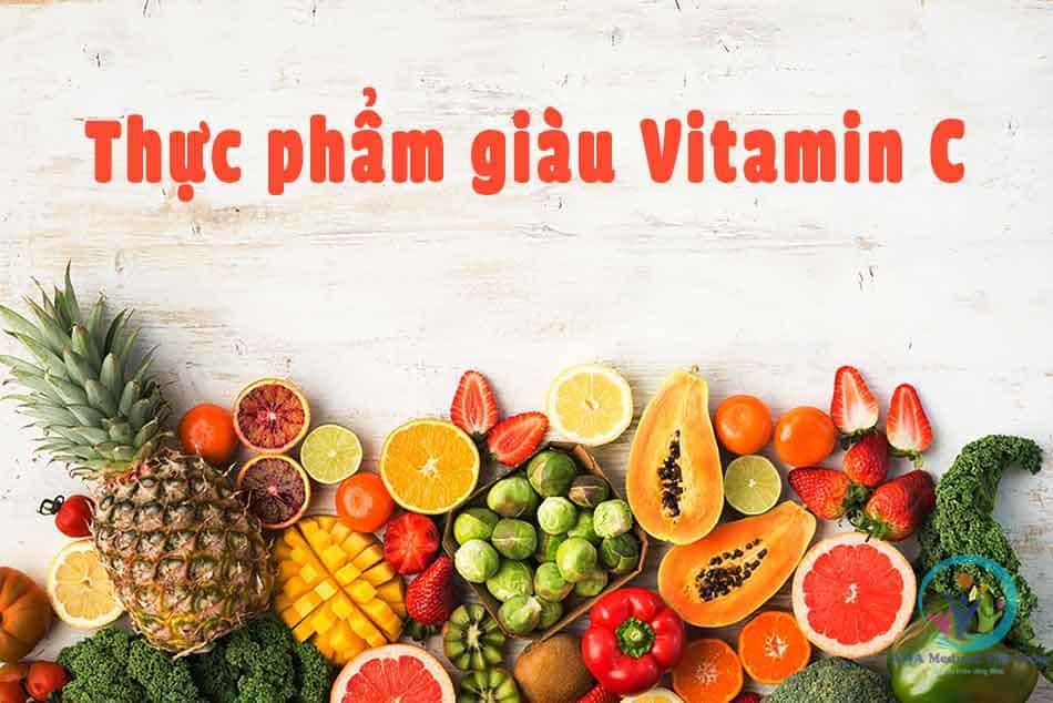 Bổ sung những thực phẩm giàu vitamin C