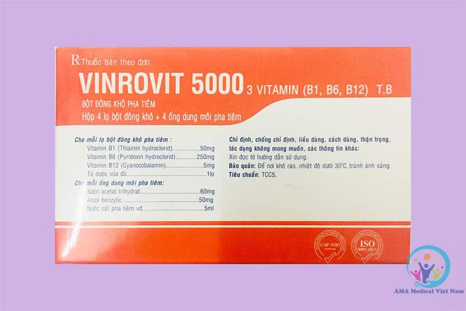 Vinrovit 5000 tiêm