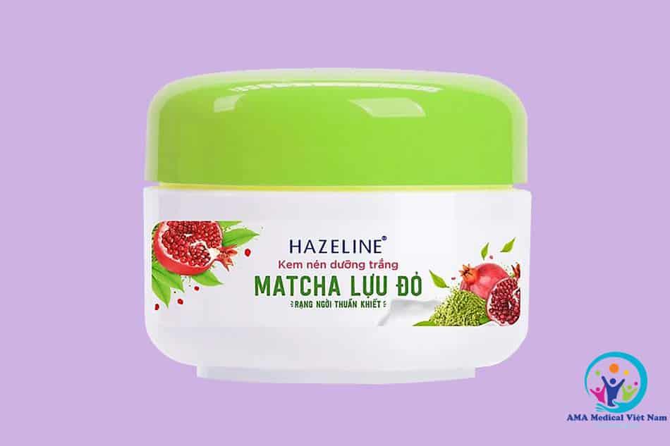 Kem dưỡng da Hazeline Matcha – Lựu đỏ