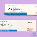 Hộp Azaduo gel hàm lượng 15mg và hàm lượng 30mg