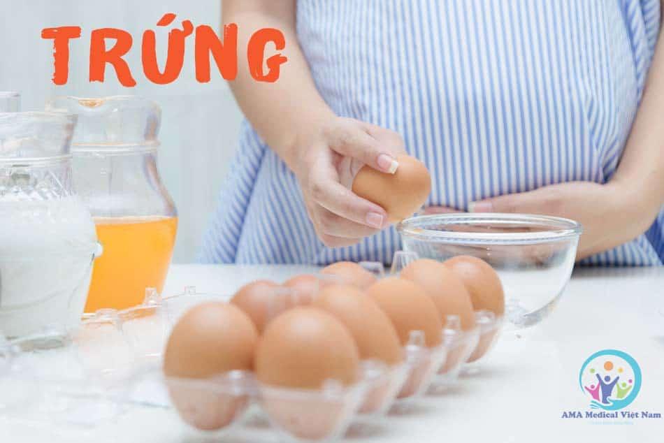 Trứng chứa một lượng protein không kém gì so với các thực phẩm từ thịt