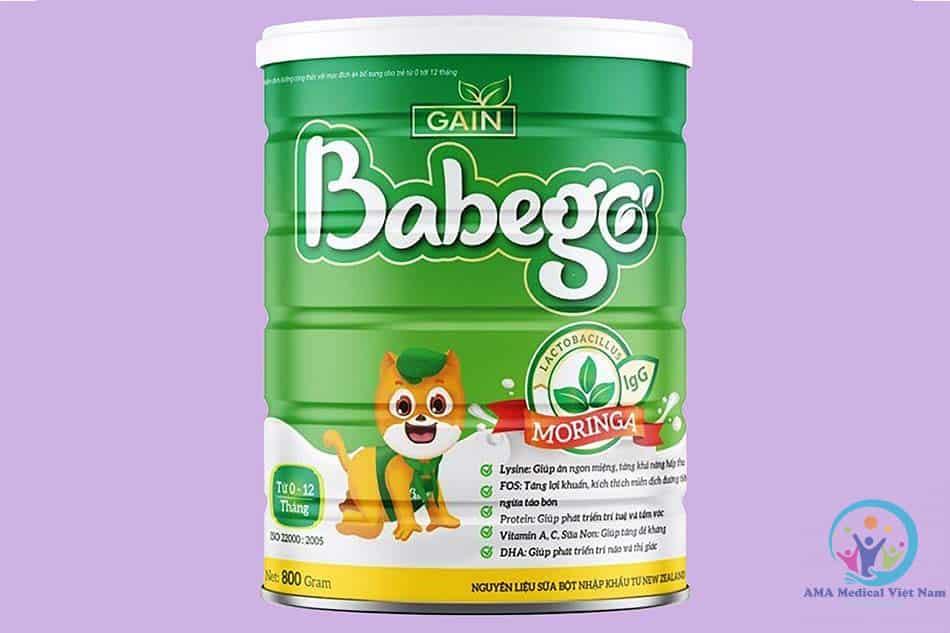 Hộp Babego cho trẻ từ 0 -12 tháng tuổi