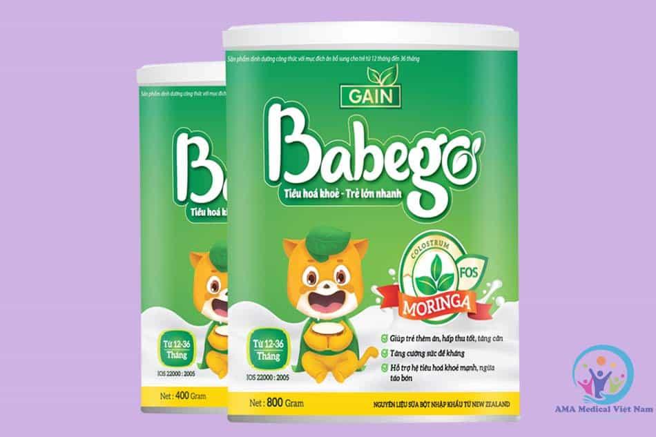 Sữa Babego cho trẻ từ 12-36 tháng tuổi