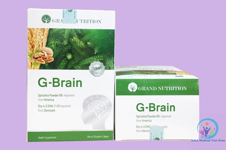 Hộp G-brain cốm siêu trí nhớ