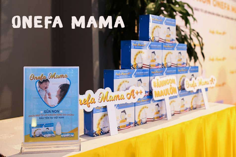 Thành phần sữa non Onefa mama