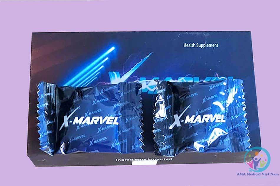 Hộp và Viên ngậm X-Marvel