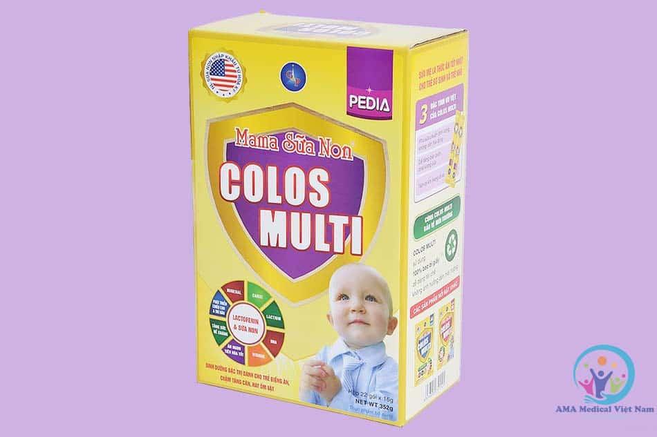 Sữa non Mama Colos Multi cho trẻ sơ sinh