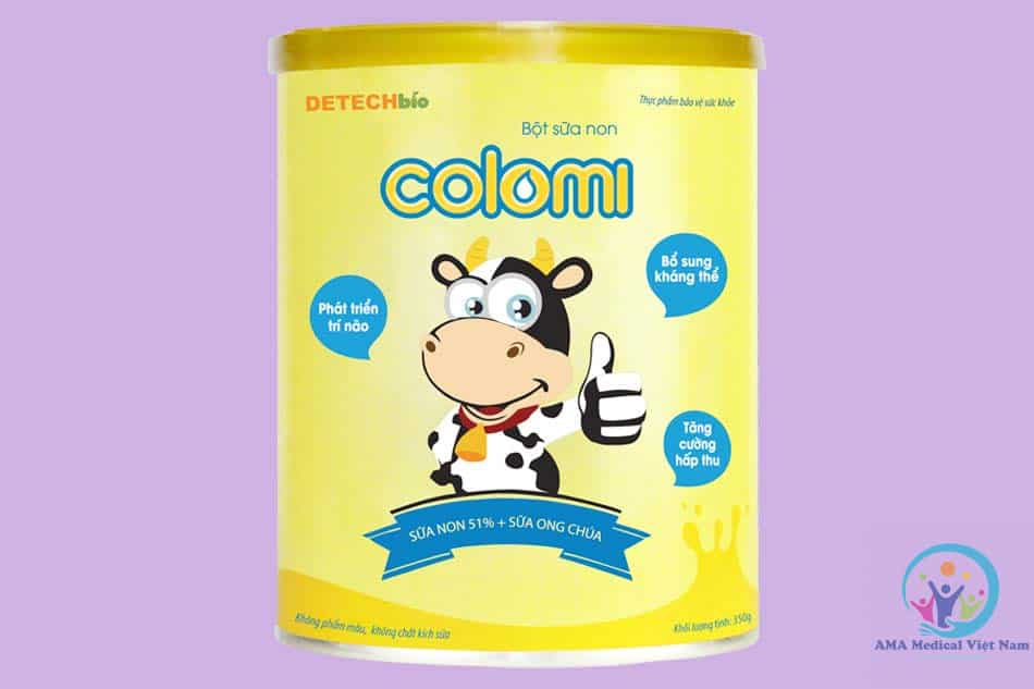 Sữa non Colomi cho trẻ sơ sinh