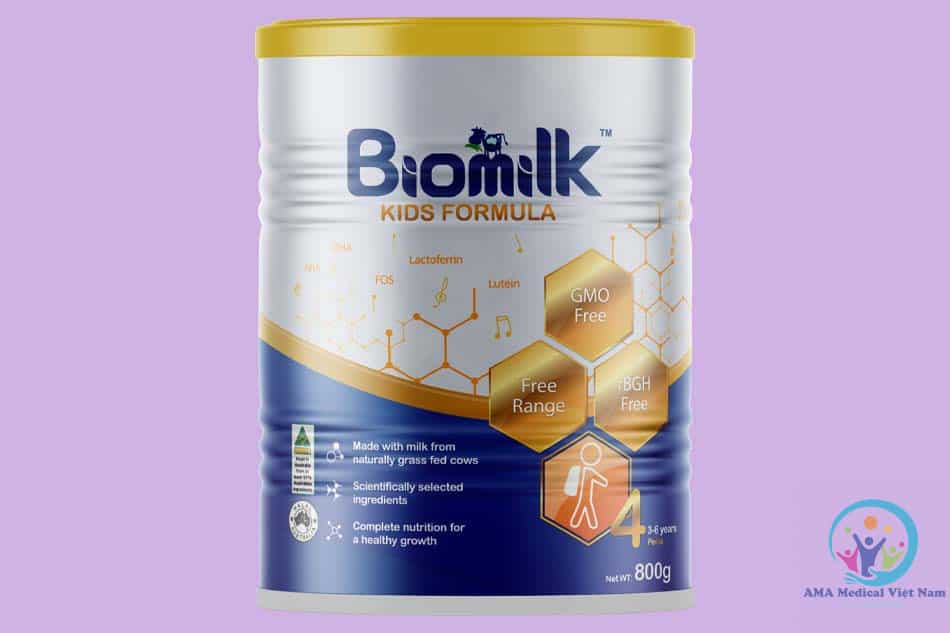 Sữa Úc Biomilk 4 số dành cho trẻ sơ sinh