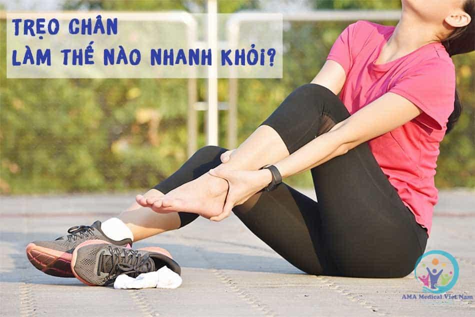 Cách chữa trẹo chân nhanh khỏi