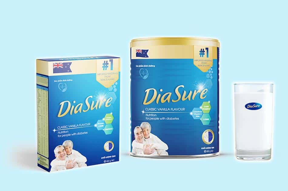 Hộp sữa non tiểu đường Diasure