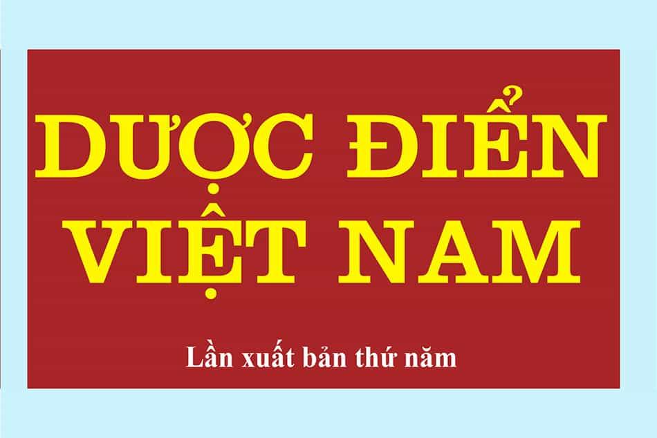 Giới thiệu về Dược điển Việt Nam 5