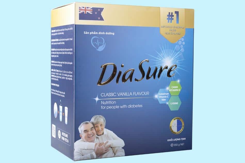 Hộp sữa tiểu đường Diasure