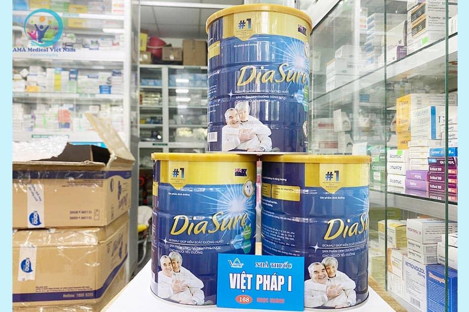 Sữa non Diasure dành cho người tiểu đường