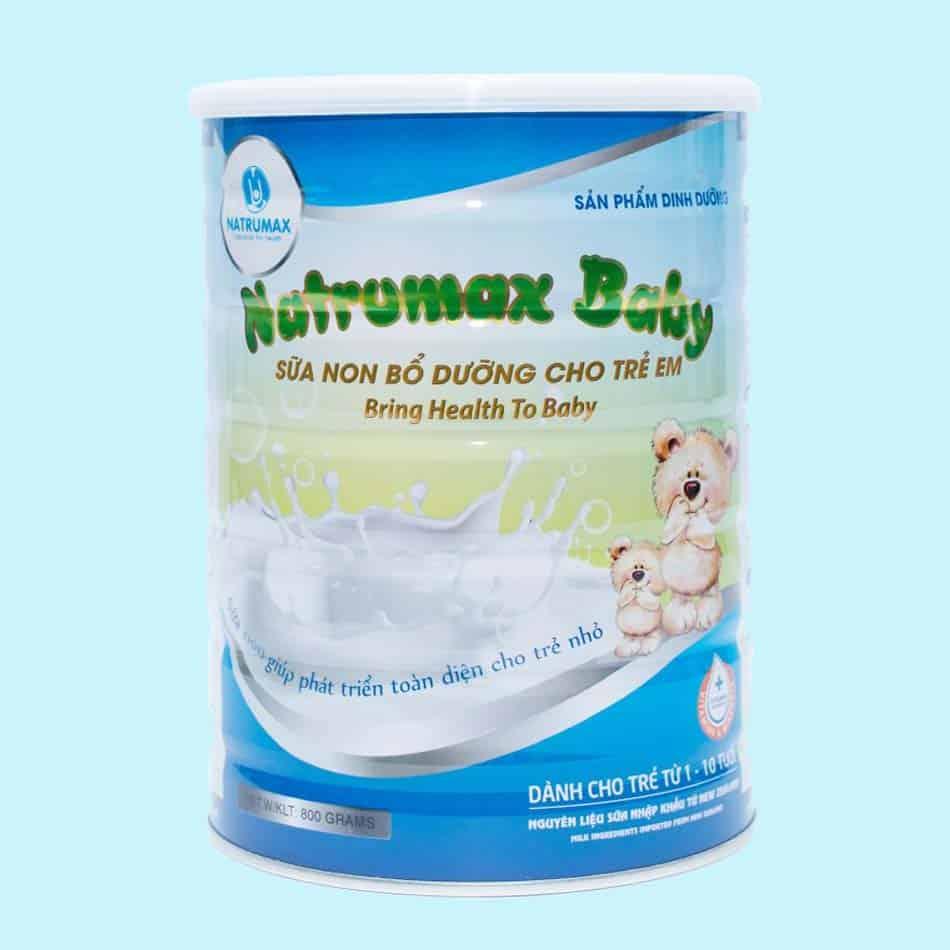 Sữa non Natrumax Baby 800gr cho trẻ