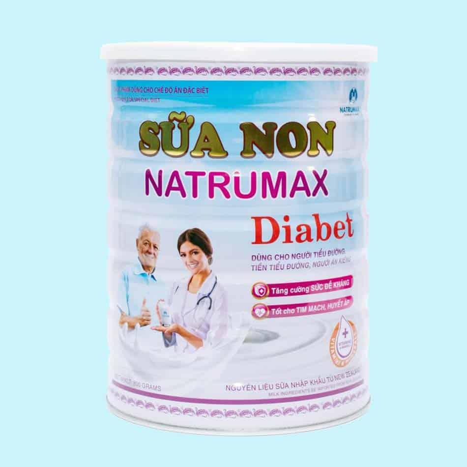 Sữa non Natrumax Diabet 800gr cho người tiểu đường