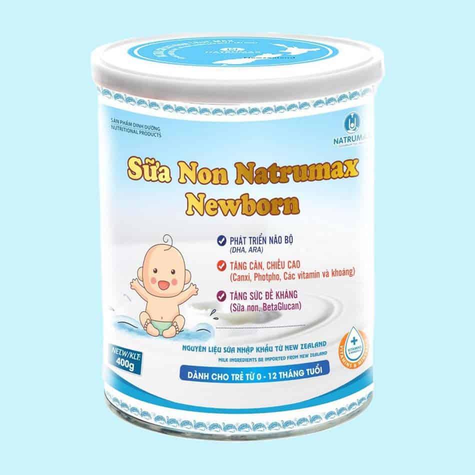 Sữa non Natrumax Newborn cho trẻ sơ sinh
