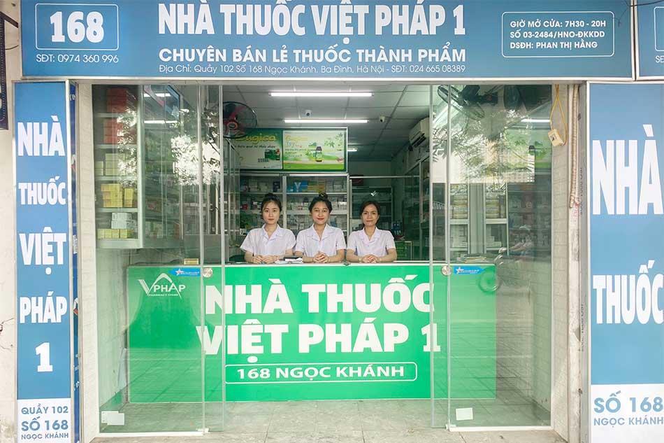Nhà thuốc Việt Pháp 1