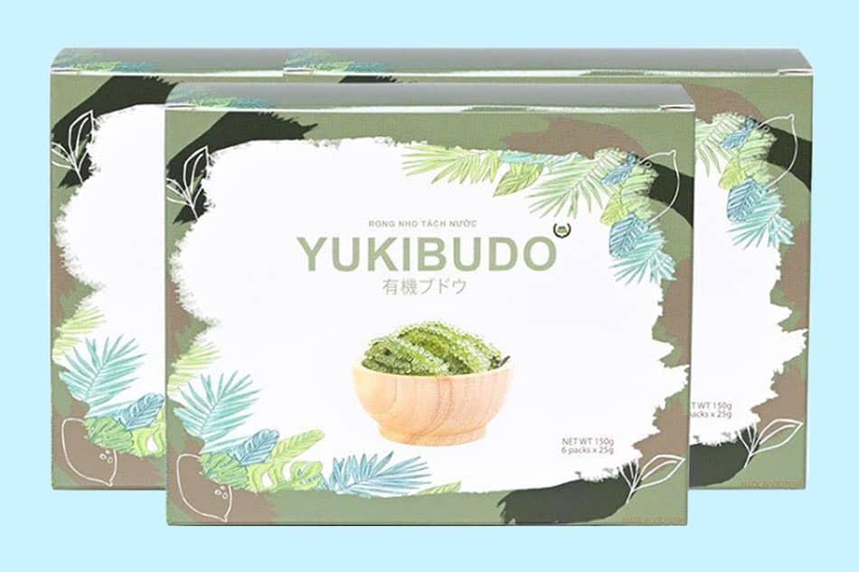 Hộp Rong nho Yukibudo