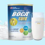Hộp sữa Boca sure