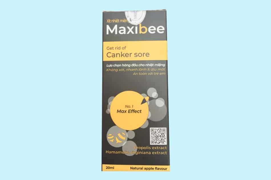 Hộp xịt họng keo ong Maxibee
