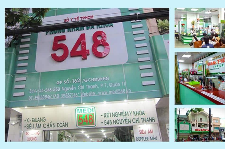 Hình ảnh: Phòng khám đa khoa 548