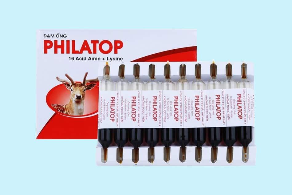 Đạm ống Philatop