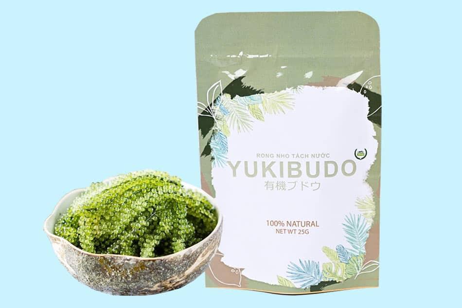 Gói Rong nho Yukibudo 25g